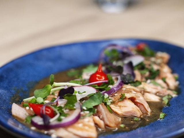 Les Fines Gueules Tataki de saumon